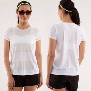 LULULEMON Runbeam short sleeve pocket t-shirt